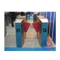 China Fashionable Design Stainless Steel Flap Barrier Turnstile Passage Speed 40 Persons / Min wholesale