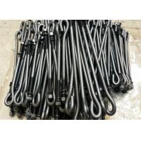 China Hardware T Type / J Type Foundation Anchor Bolts M16 For Concrete Mining Industry wholesale