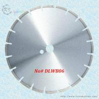 China Laser Welded Diamond Saw Blade for Cutting Granite and Marble - DLWB06 (Narrow U-slot) wholesale