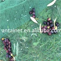 Quality 100% virgin HDPE green70-150 gsm falling olive harvest netting for sale