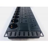 China Patchboard Cabinet PDU Power Strip Good Elasticity For Lightning Protection wholesale