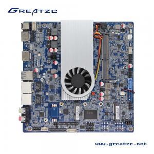China 3855U CPU 2 COM Ports Industrial Mini ITX Motherboard LVDS / HDMI Ports Support 4K ZC-T3855SL wholesale
