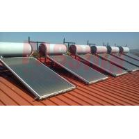 Buy cheap 100L 250L Solar Panel Hot Water Heater , Solar Assisted Water Heater Blue from wholesalers