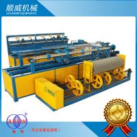 China 1.4mm - 4.5mm Stainless Wire /  PVC Full Automatic Chainlink Fence Weaving Machine wholesale