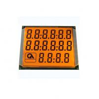 Buy cheap 6 Digit 70 Pin Fuel Dispenser LCD Display with Orange Backlight from wholesalers