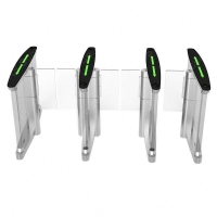 China Face Recognition RS232 SUS316 Turnstile Security Gates on sale