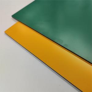 China Fireproof ACP 3mm Aluminum Composite Panel Antibacterial wholesale