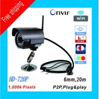 China Wireless outdoor P2P camera Plug and Play 1 Mega Pixel 20M night vision with TF Card 32G supported wholesale