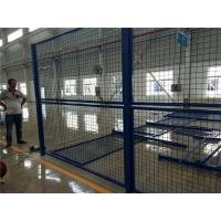 Buy cheap Blue Welded Metal Mesh Fencing Elegant Style Workshops / Warehouse Isolation Fence from wholesalers