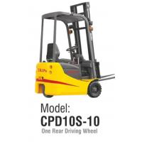 Buy cheap Three Wheel Electric Forklift Truck 1 Ton Loading Capacity Small Turning Radius from wholesalers