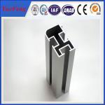 China Good!Aluminium industry extrusion profiles, silver anodized profil aluminum per kgs wholesale