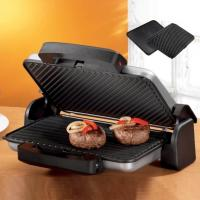 China Contact Grill / 2000W / Non-stick coating / With drip tray wholesale