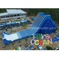China Outdoor Water Inflatable Slides Giant Screamer 100ft Hippo Inflatable Water Slide wholesale