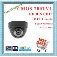 China DIS 700TVL BYD Color CMOS camera with IR-CUT plastic mini Dome security Camera 24 IR indoor day night CCTV Camera wholesale