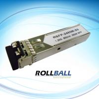 China 1.25G sfp module , Rollball SFP Transceiver module , 550m SFP module on sale