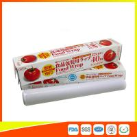 China Ovenproof PE Cling Film For Food Wrap , Stretch Wrapping Plastic Roll wholesale