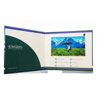China 10.1 inch 4GB memory video brochure card with touch screen / USB cable wholesale