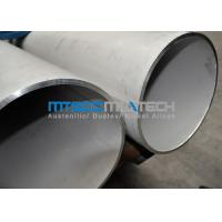 China TP309S Welded Stainless Steel Pipe 14 INCH SCH40 , 355.6mm x 11.13mm wholesale