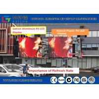 China High Brightness 7000CD Led Video Screen  Outdoor Smd Led Screen With Low Rate Of Dead Lamp wholesale
