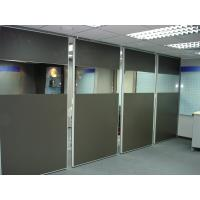 China Office Movable Partition Walls Accordion Commercial Aluminium Profile wholesale