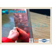 China Copper Veneer Attached Aluminum Honeycomb Panels Moistureproof Energy Saving wholesale