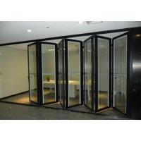 China Internal Foldable Glass Door wholesale