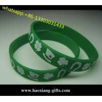 China Cheap custom silicone bracelet/silicone wristband glow in the dark for events wholesale