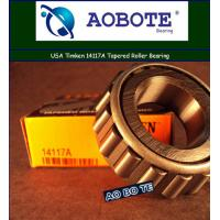 China Single Row ABEC 5 Timken Taper Roller Bearings For Printing wholesale