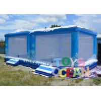 China EN14960 PVC Giant Inflatable Snow Ball Customized Bounce Pool For Children Play wholesale