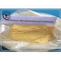 China Parabolan Trenbolone Yellow Trenbolone Hexahydrobenzyl Carbonate Powder wholesale