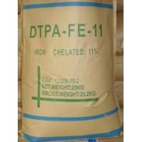 China PH 2.0 - 4.0 Sodium Hydrogen Ferric DTPA / DTPA-FE-11 CAS No. 12389-75-2 of DTPA Chelator wholesale