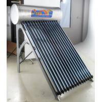 China 15 Heat Pipe Residential Compact Pressurized Solar Water Heater wholesale