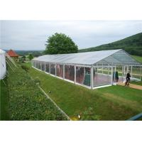 China Portable Tent House Large Transparent Event Tent Weather Proof Fabric Marquee wholesale
