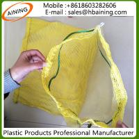 China PP/PE Leno Raschel Mesh Net Bag wholesale