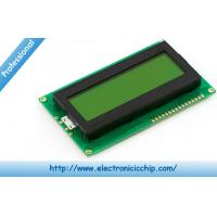 China Basic 20x4 Character LCD Display  - Black on Green 5V Display wholesale