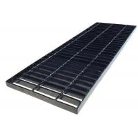 China Slotted Kerb Curb Inlet Galvanized Trench Grates Carbon / Stainless Steel Material wholesale