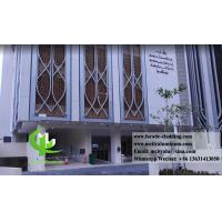 Quality Perforated Roof Cladding Panels , Aluminum Wall Panels Exterior For Islam Mosque for sale