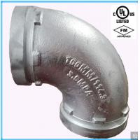China UL Listed, FM Approval Ductile Iron 90 Elbow  (Galvanized) wholesale