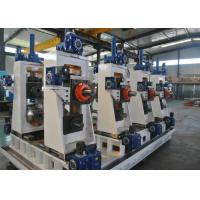China Manual Or Automatic Welded Pipe Production Line / Industrial Tube Mills wholesale