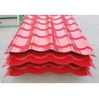 China Waterproof Color Coated Roofing Sheets , Corrugated Metal Roofing Sheets wholesale