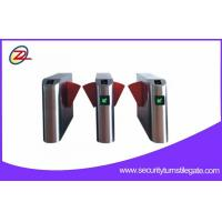 China Type bevel shape flap barrier gate have closed blocking and other functions on sale
