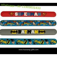 China cheap custom silicone slap bracelet,silicone ruler slap bracelet,silicone slap wristband wholesale
