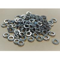 China Silver Color Titanium Washers , Din Spring Washer  Grade 5 Titanium Alloy on sale
