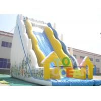 Quality Gaint Inflatable Water Slide With Stairs For Children Water Park for sale