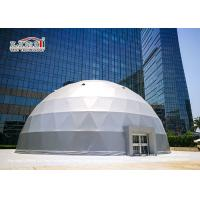 China Geodesic Dome Shelter Tent Structure For Event And Exhibition And Movie Cinema wholesale