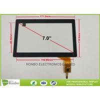 China Durable Capacitive Touch Display , 7.0 Inch Capacitive Multi Touch Screen I2C Interface on sale