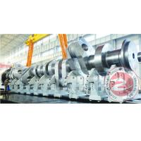 China Heavy Duty Slow Speed Forged Steel Crankshaft Astm En / Compressor Customized wholesale