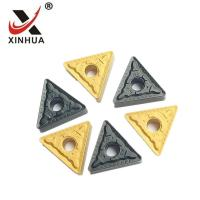 Quality TNMG160408- PM Tungsten Carbide Turning Inserts CNC Machine External Cutting for sale