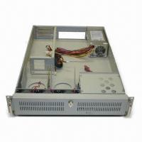 China Rack-mounted Industrial PC Chassis with 300/350/400W 2U Slim Mini Redundant Power Supply wholesale
