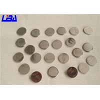 China Flahlights Equipment Standard CR2016  3V Coin Battery 90mAh High Energy Density wholesale